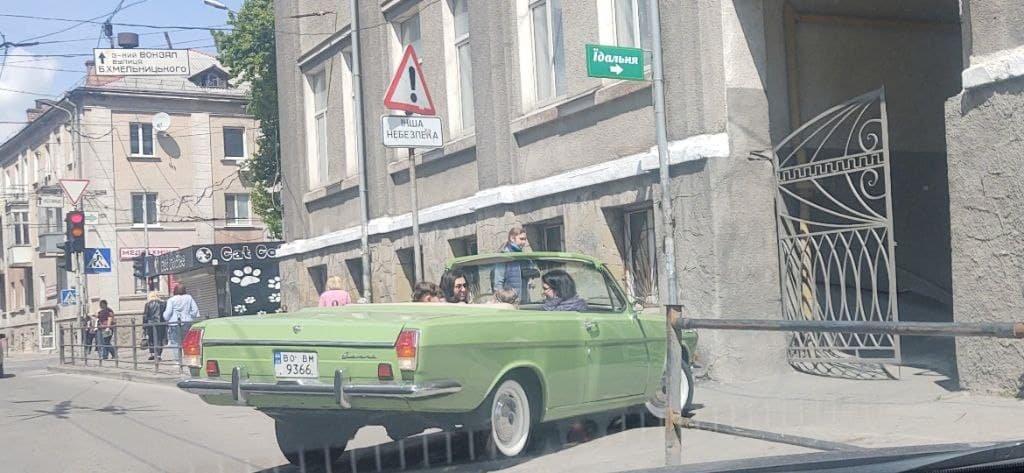 """""""Дорогий і ефектний"""": у центрі Тернополя помітили унікальний і раритетний автомобіль (ФОТОФАКТ), фото-1"""