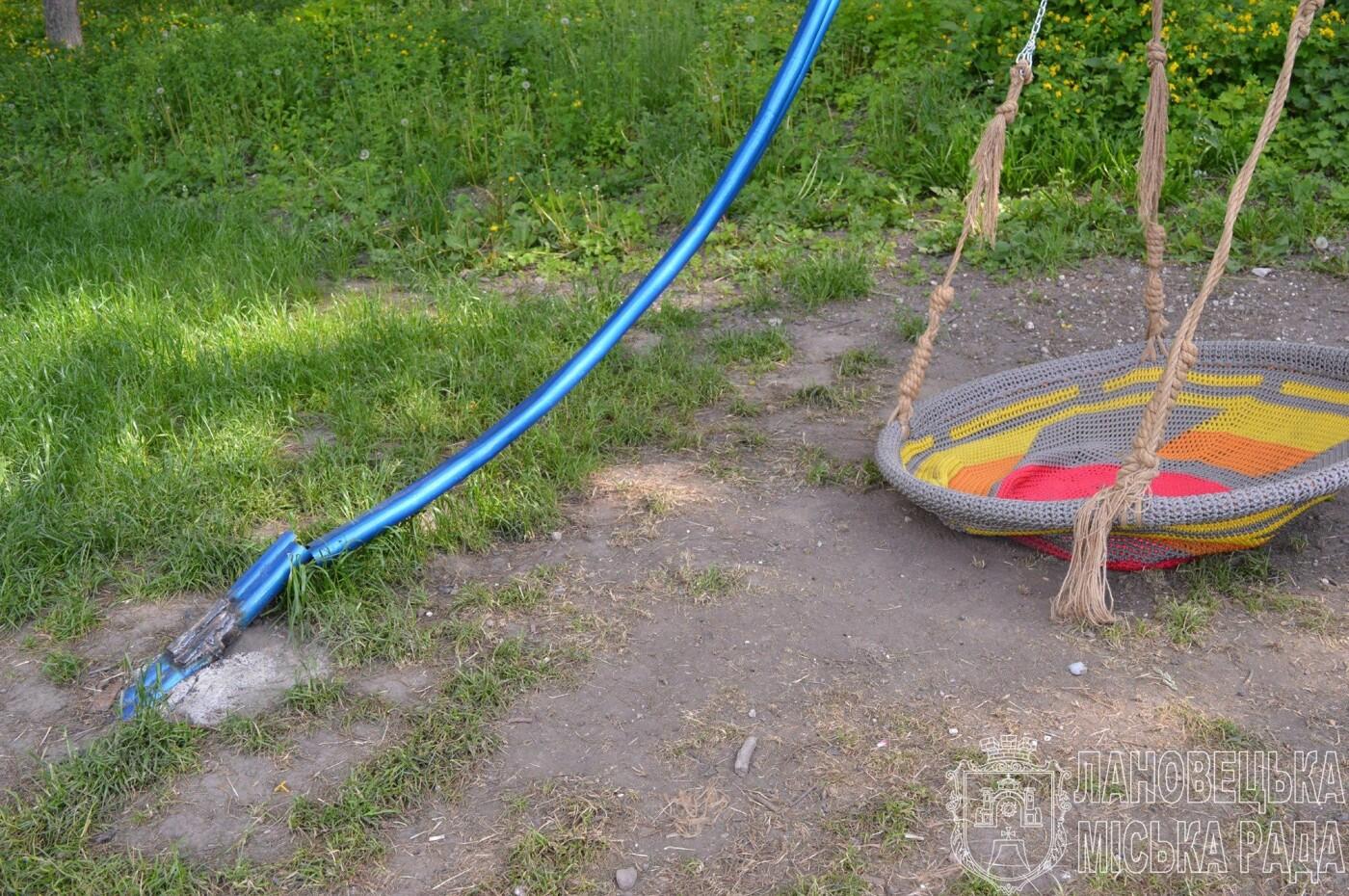 Гірше за монголо-татарів: на Тернопільщині потрощили нещодавно відкритий молодіжний майданчик (ФОТО), фото-2