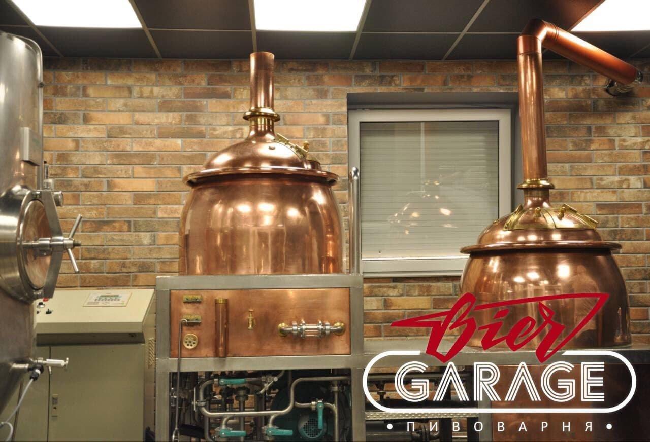 """Крафтова пивоварня """"Biergarage"""" в Тернополі"""